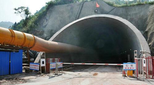 隧道通风带